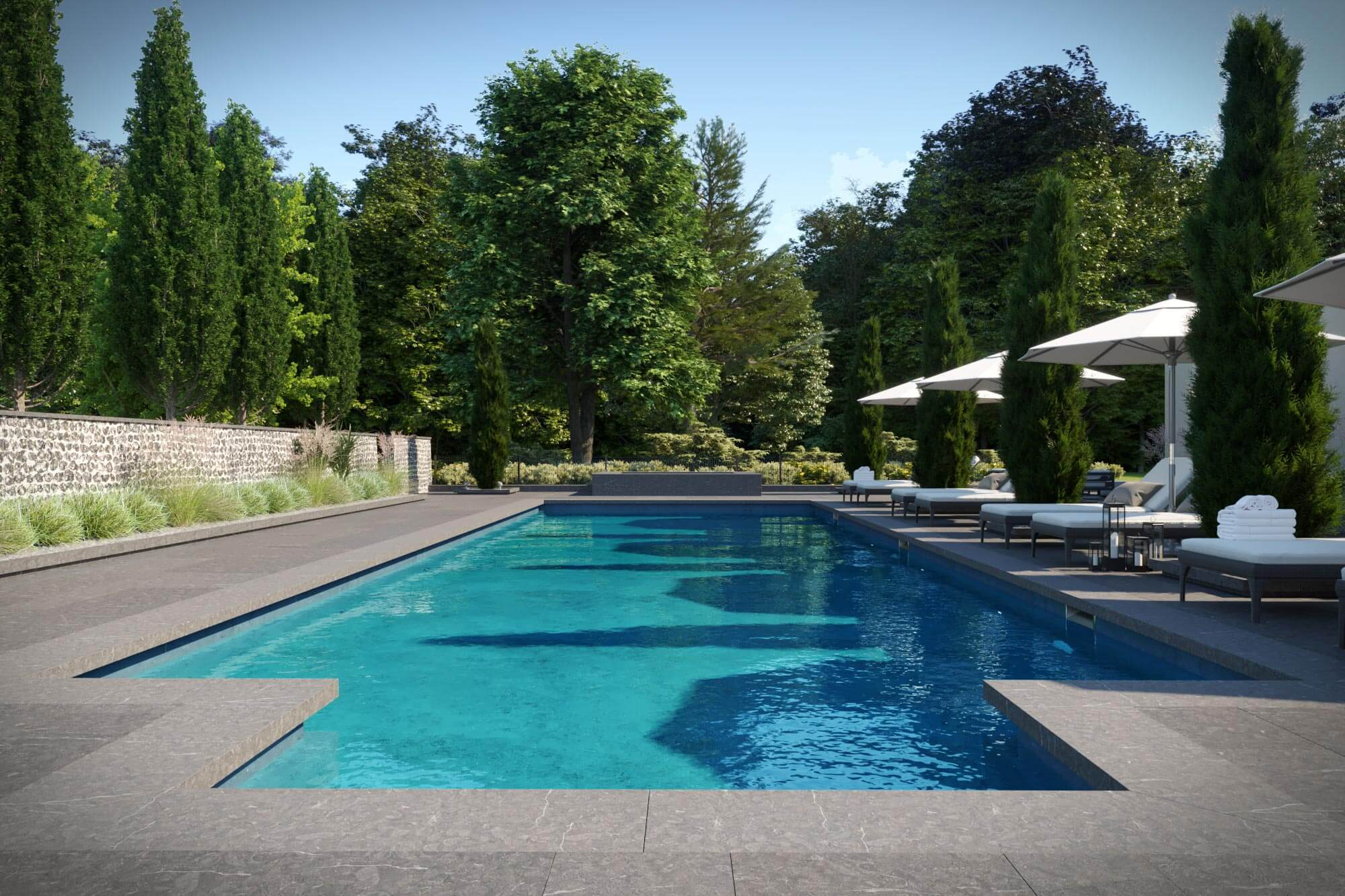 Outdoor Pool And Spa Installation Chichester Aqua Platinum
