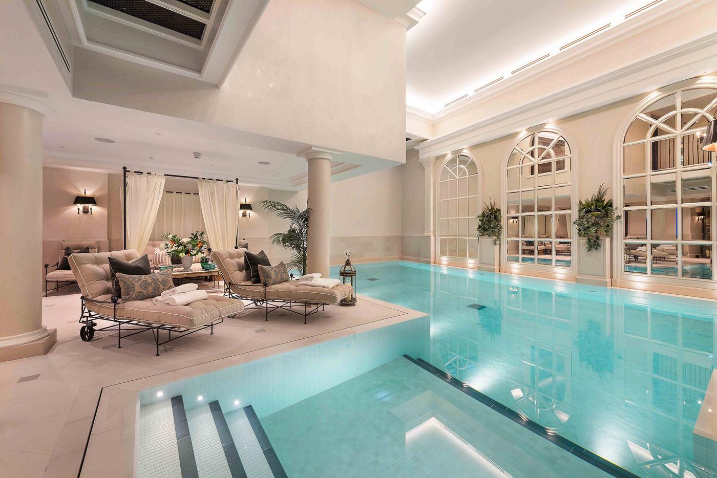 Luxury swimming pool design construction company london for Pool design uk